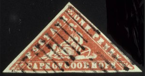 Sale Number 560, Lot Number 389, General ForeignCAPE OF GOOD HOPE, 1861, 1p Vermilion, Wood Block (7), CAPE OF GOOD HOPE, 1861, 1p Vermilion, Wood Block (7)