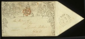 Sale Number 560, Lot Number 404, General Foreign1840, 1p Black Mulready Envelope (U1), 1840, 1p Black Mulready Envelope (U1)