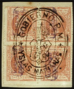 Sale Number 560, Lot Number 412, General ForeignMARIANA ISLANDS, 1899, 2c Dark Blue Green, 5c Carmine rose, 8c Gray Brown (1, 3, 5), MARIANA ISLANDS, 1899, 2c Dark Blue Green, 5c Carmine rose, 8c Gray Brown (1, 3, 5)