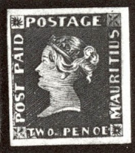 "Sale Number 560, Lot Number 417, General Foreign-----, 1848 2p Dark Blue, ""Penoe"" Error, Earliest Impression (4d), -----, 1848 2p Dark Blue, ""Penoe"" Error, Earliest Impression (4d)"