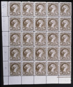 Sale Number 579, Lot Number 535, General Foreign1868, 6c Brown,Thick Paper (27), 1868, 6c Brown,Thick Paper (27)
