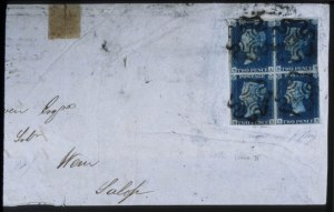 Sale Number 579, Lot Number 576, General ForeignGREAT BRITAIN, 1840, 2p Blue (2), GREAT BRITAIN, 1840, 2p Blue (2)