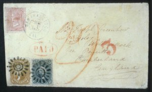 Sale Number 596, Lot Number 208, 1861-66 Issue5c Buff, 24c Red Lilac (67, 70), 5c Buff, 24c Red Lilac (67, 70)