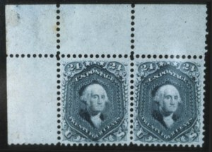 Sale Number 596, Lot Number 210, 1861-66 Issue24c Steel Blue (70b), 24c Steel Blue (70b)