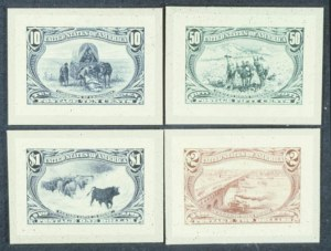 Sale Number 596, Lot Number 307, Trans-Mississippi Issue1c-$2.00 Trans-Mississippi, Small Die Proofs (285P2-293P2), 1c-$2.00 Trans-Mississippi, Small Die Proofs (285P2-293P2)