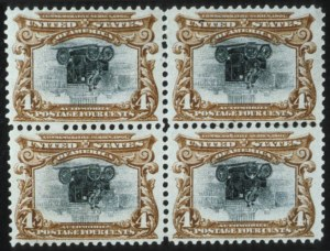 Sale Number 596, Lot Number 320, Pan-American Issue4c Pan-American, Center Inverted (296a), 4c Pan-American, Center Inverted (296a)