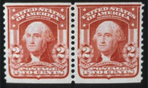 Sale Number 596, Lot Number 331, 1902-08 Issue2c Carmine, Coil (322), 2c Carmine, Coil (322)