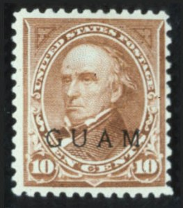 Sale Number 596, Lot Number 404, U.S. Possessions-----, 1899, 10c Brown, Ty. II, Overprint (9), -----, 1899, 10c Brown, Ty. II, Overprint (9)