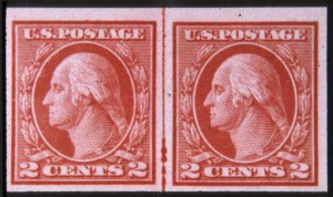 Sale Number 618, Lot Number 195, Later Issues2c Carmine, Imperforate Coil (459), 2c Carmine, Imperforate Coil (459)