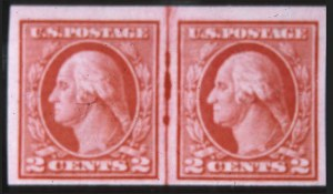 Sale Number 618, Lot Number 196, Later Issues2c Carmine, Imperforate Coil (459), 2c Carmine, Imperforate Coil (459)