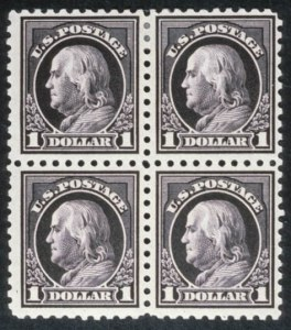 Sale Number 618, Lot Number 198, Later Issues$1.00 Violet Black (460), $1.00 Violet Black (460)