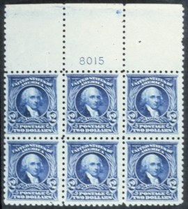 Sale Number 618, Lot Number 199, Later Issues$2.00 Dark Blue (479). Mint T. PI. No, $2.00 Dark Blue (479). Mint T. PI. No
