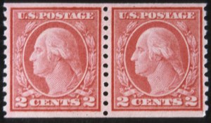 Sale Number 618, Lot Number 202, Later Issues2c Carmine Coil, Ty. II (491), 2c Carmine Coil, Ty. II (491)