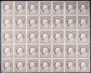 Sale Number 618, Lot Number 207, Later Issues$1.00 Violet Brown (518), $1.00 Violet Brown (518)