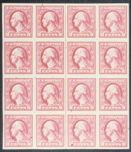 Sale Number 618, Lot Number 210, Later Issues2c Carmine Offset, Type V, Imperforate (533), 2c Carmine Offset, Type V, Imperforate (533)