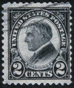 Sale Number 618, Lot Number 217, Later Issues2c Harding Rotary, Perforated 11 (613), 2c Harding Rotary, Perforated 11 (613)