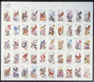 Sale Number 618, Lot Number 227, Later Issues20c State Birds, Imperforate (2002a var), 20c State Birds, Imperforate (2002a var)