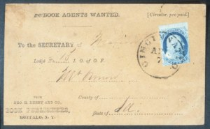 Sale Number 632, Lot Number 179, 1851-56 Issue1c Blue, Ty. I (5), 1c Blue, Ty. I (5)