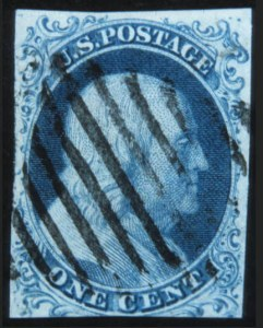 Sale Number 632, Lot Number 181, 1851-56 Issue1c Blue, Ty. 1b (5A), 1c Blue, Ty. 1b (5A)