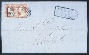 Sale Number 632, Lot Number 189, 1851-56 Issue3c Red (11), 3c Red (11)