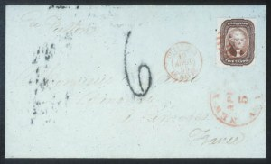 Sale Number 632, Lot Number 195, 1851-56 Issue5c Red Brown (12), 5c Red Brown (12)
