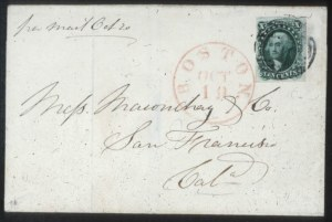 Sale Number 632, Lot Number 200, 1851-56 Issue10c Green, Ty. I (13), 10c Green, Ty. I (13)