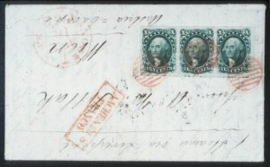 Sale Number 632, Lot Number 203, 1851-56 Issue10c Green, Ty. III (15), 10c Green, Ty. III (15)