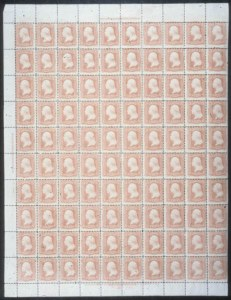 Sale Number 632, Lot Number 249, 1861-66 Issue3c Rose (65), 3c Rose (65)