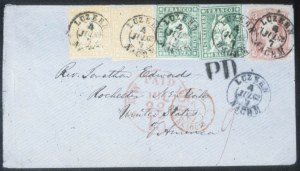 Sale Number 632, Lot Number 250, 1861-66 Issue3c Rose (65), 3c Rose (65)