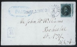 Sale Number 632, Lot Number 254, 1861-66 Issue10c Green (68), 10c Green (68)