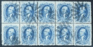 Sale Number 632, Lot Number 260, 1861-66 Issue90c Blue (72), 90c Blue (72)