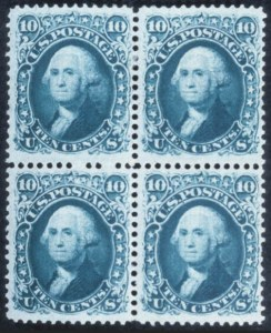 Sale Number 632, Lot Number 268, 1867-68 Grilled Issues10c Dark Green, F. Grill (96a), 10c Dark Green, F. Grill (96a)