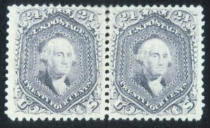 Sale Number 632, Lot Number 269, 1867-68 Grilled Issues24c Gray, F. Grill (99), 24c Gray, F. Grill (99)
