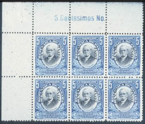Sale Number 632, Lot Number 525, U.S. Possessions-----, 1915, 5c Deep Blue & Black (48), -----, 1915, 5c Deep Blue & Black (48)