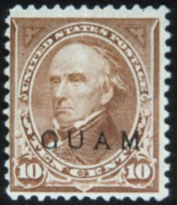 Sale Number 632, Lot Number 527, U.S. PossessionsGUAM, 1899, 10c Brown, Ty. 11 (9), GUAM, 1899, 10c Brown, Ty. 11 (9)