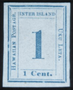 Sale Number 632, Lot Number 529, U.S. Possessions1859, 1c Light Blue on Bluish White (12), 1859, 1c Light Blue on Bluish White (12)
