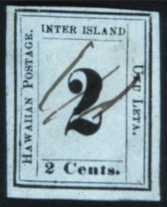 Sale Number 632, Lot Number 531, U.S. Possessions1862, 2c Black on Greenish Blue (14), 1862, 2c Black on Greenish Blue (14)