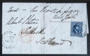 Sale Number 632, Lot Number 543, General Foreign1855, 10p Blue, Thick Paper (7a), 1855, 10p Blue, Thick Paper (7a)