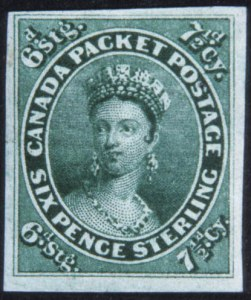 Sale Number 632, Lot Number 544, General Foreign1857, 71/2p Green (9), 1857, 71/2p Green (9)