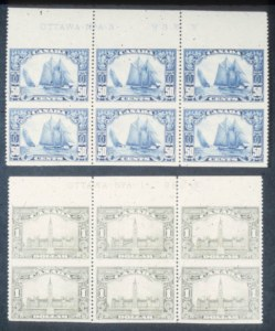 Sale Number 632, Lot Number 551, General Foreign1928-29, 10c-$1.00 Pictorials, Imperforate Horizontally (155a-159a).  Top Imprint & Plate No, 1928-29, 10c-$1.00 Pictorials, Imperforate Horizontally (155a-159a).  Top Imprint & Plate No