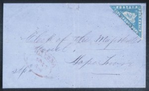 "Sale Number 632, Lot Number 553, General ForeignCAPE OF GOOD HOPE, 1861, 4p Blue, ""Wood Block"" (9), CAPE OF GOOD HOPE, 1861, 4p Blue, ""Wood Block"" (9)"