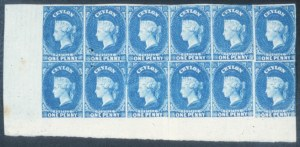 Sale Number 632, Lot Number 557, General Foreign-----, 1857, 1p Blue (3), -----, 1857, 1p Blue (3)