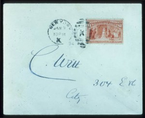 Sale Number 645, Lot Number 200, Columbian Issue$1.00 Columbian (241), $1.00 Columbian (241)