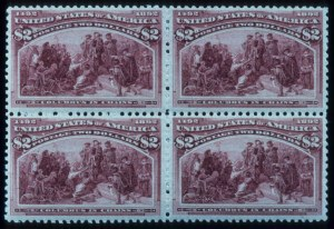 Sale Number 645, Lot Number 201, Columbian Issue$2.00 Columbian (242), $2.00 Columbian (242)