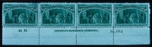 Sale Number 645, Lot Number 203, Columbian Issue$3.00 Columbian (243), $3.00 Columbian (243)