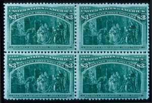 Sale Number 645, Lot Number 204, Columbian Issue$3.00 Columbian (243), $3.00 Columbian (243)