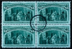 Sale Number 645, Lot Number 205, Columbian Issue$3.00 Columbian (243), $3.00 Columbian (243)