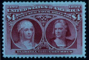 Sale Number 645, Lot Number 208, Columbian Issue$4.00 Columbian (244), $4.00 Columbian (244)