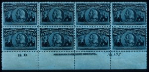 Sale Number 645, Lot Number 217, Columbian Issue$5.00 Columbian (245), $5.00 Columbian (245)