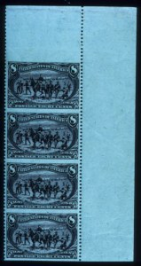 Sale Number 645, Lot Number 232, Trans-Mississippi Issue8c Trans-Mississippi, Vertical Pair, Imperforate Horizontally (289a), 8c Trans-Mississippi, Vertical Pair, Imperforate Horizontally (289a)